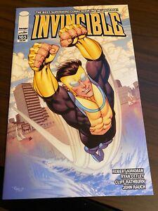 Invincible #105 Kirkman Image NM Amazon Prime 2012