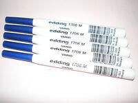 5x Edding 1706 M VARIO Mine blau für Fineliner 1700 Spitze ca. 0,5mm NEU