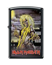 "Zippo 7680,   ""Iron Maiden"" Black Matte Finish Lighter"