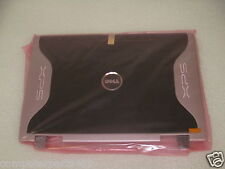 NEW GENUINE Dell XPS M1710 LCD Rear Top Panel Case Lid W/Hinges  RG723