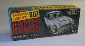 Repro Box Corgi Nr.261 James Bond Aston Martin DB 5