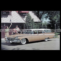 #pha.002222 Photo BUICK LESABRE ESTATE WAGON 1959 Car Auto