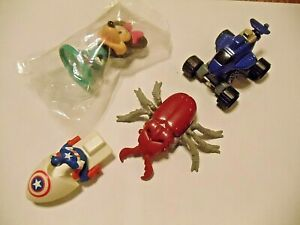 LOT VINTAGE HAPPY MEAL HOT WHEELS HASBRO DISNEY TOYS Minnie Mouse Transformer