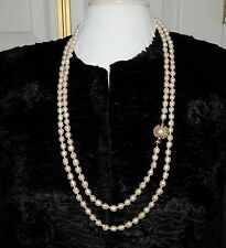 CHANEL PEARL NECKLACE VINTAGE 1980's OPERA