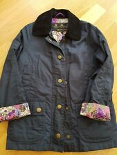 Girls Barbour Wax Jacket Age Xs 4-5 years. 💜