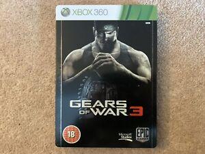 Gears Of War 3 Steelbook Edition Xbox 360 UK PAL