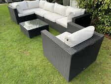 Oceans Large Chunky Rattan Garden Patio Conservatory Or Summerhouse Furniture