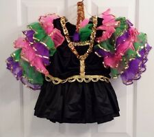 Costume Gallery Women's Large Salsa 2 Piece Recital Costume w/ Accessories