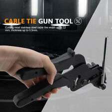 Heavy Duty Stainless Steel Cable Tie Gun Fasten Pliers Crimper Tensioner Cutter