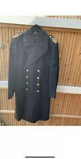 Original Bundeswehr Marine Mantel Uniform Kapitän Fregattenkapitän zur See
