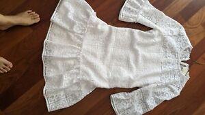 Kate Spade white Lace Women's dress Sz 4 M $349