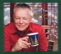 TOMMY EMMANUEL - ALL I WANT FOR CHRISTMAS  CD NEU