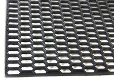 UNIVERSAL BLACK ABS 120cm x 40cm HONEYCOMB GRILLE GRILL MESH VENT 120 40 cm gril