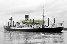 mc0084 - Blue Funnel Cargo Ship - Dardanus - photo 6x4