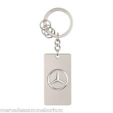 """Mercedes Benz Porte-clés Original """"métal argenté"""" neuf emballage d'origine"""