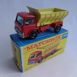 Vintage Matchbox Lesney No70 Ford Grit Truck PALE Yellow Rear NMINT BOXED!