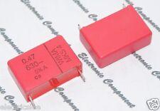 2pcs - WIMA MKS4 0.47uF (0.47µF 0,47uF 470nF) 630V 5% pitch:27.5mm Capacitor