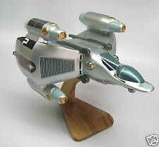 Gunstar Spacecraft Mahogany Kiln Dry Wood Model Spaceship Large New