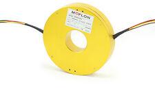MP320 pancake slip rings with bore size 25.4mm, 12x10A, MOFLON slip ring