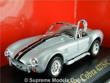 SHELBY COBRA 427S/C 1964 CAR MODEL 1/43RD SIZE SILVER COLOUR EXAMPLE T3412Z(=)