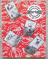 Zorlac John Gibson Craig Johnson Fred Smith Skateboard Catalog 1980'S Original