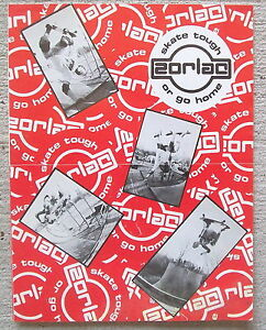ZORLAC JOHN GIBSON CRAIG JOHNSON FRED SMITH SKATEBOARD CATALOG 1980'S ORIGINAL
