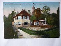 Ansichtskarte Stuttgart 1914 Restaurant Jägerhaus mit Aussichtsturm (Nr.567)