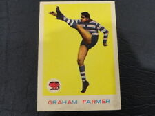 1964 SCANLENS CARD NO.2 GRAHAM FARMER #104