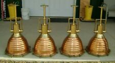 Copper & Brass Wiska Pendant Beehive Lights - Set Of 4