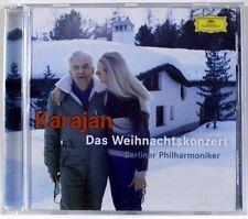 KARAJAN - Das Weihnachtskonzert - CD SIGNED ELIETTE KARAJAN