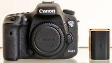 Canon EOS 7D Mark II 20.2 MP DSLR Camera - Black - Body Only