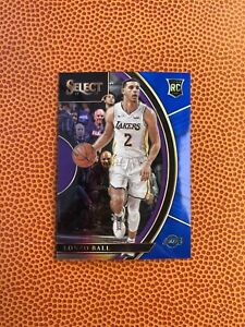 LONZO BALL 2017-18 Select Concourse RC Blue Prizm Rookie #'d/299 Lakers Pelicans