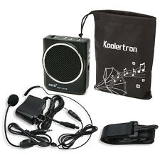 AKER MR1700 Portable Waistband Microphone Amplifier AMP MP3 Speaker with Headset