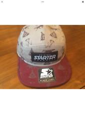 Fab Starter Coyote 5 Panel Cap (Tan / Burgundy) - GREY