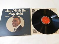 Since I Fell For You... Lenny Welch Cadence Records CLP3068 Record LP