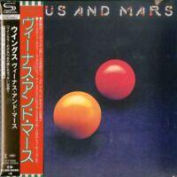 WINGS-VENUS AND MARS-JAPAN MINI LP SHM-CD Ltd/Ed G00