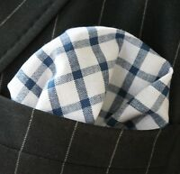 Hankie Pocket Square Cotton Handkerchief Dusty Pink with Leaves CH281