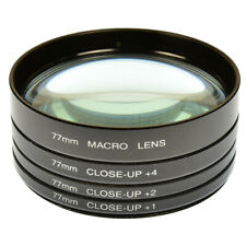 MACRO CLOSE UP LENS SET +1+2+4+10 NEW KIT 49 52 55 58 62 67 72 77 mm CHOOSE SIZE