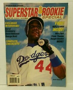 August 1991 Baseball Cards Magazine  Cards Inside - New Unread