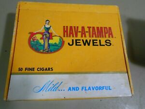 Vintage HAV-A-TAMPA JEWELS Cigar Box