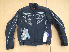 "SWIFT Mens Textile Waterproof Motorbike Motorcycle Jacket  UK 40"" chest    H148"