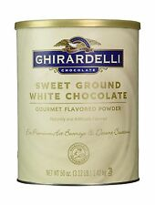 Ghirardelli Sweet Ground White Chocolate Flavor Powder 3.12 lbs... Free Shipping