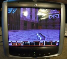 """Vintage Retro - HP Pavilion mx50 P1282A 15"""" Gaming CRT Computer Monitor WORKS"""