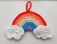 🌈 New Crochet Rainbow Window Hanging Thank you 10% NHS Charity Donation🌈