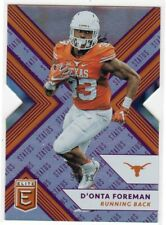 2018 Panini Elite Draft Picks Status Purple #36 D'Onta Foreman #91/99