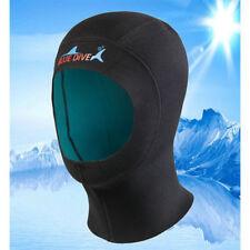 1mm Neoprene New Diving Hat Cap Neck Cover Wetsuit Surfing Hood Kayak Scuba HC
