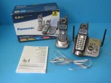 Panasonic 5.8GHz Expanadable Cordless Phone System Answering Machine 2 Handset
