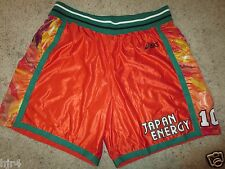 Japan Energy Griffins Basketball League Game Used Worn Asics Shorts L 8