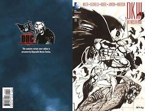 BATMAN Dark Knight III The master race #1 Simon Bisley sketch variant disposable