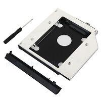 2nd 2.5 HDD SSD Caddy Disco Duro Caja para HP EliteBook 6930p 8440p 8530p 8540p